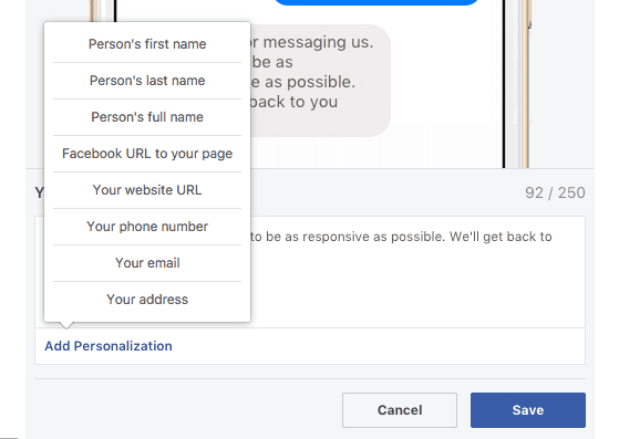 Facebook Messenger - How to Enable Response Assistant in FB