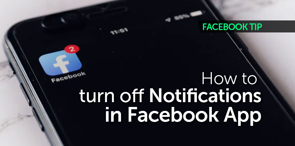 FBook Mastery - How to turn off notifications in Facebook app