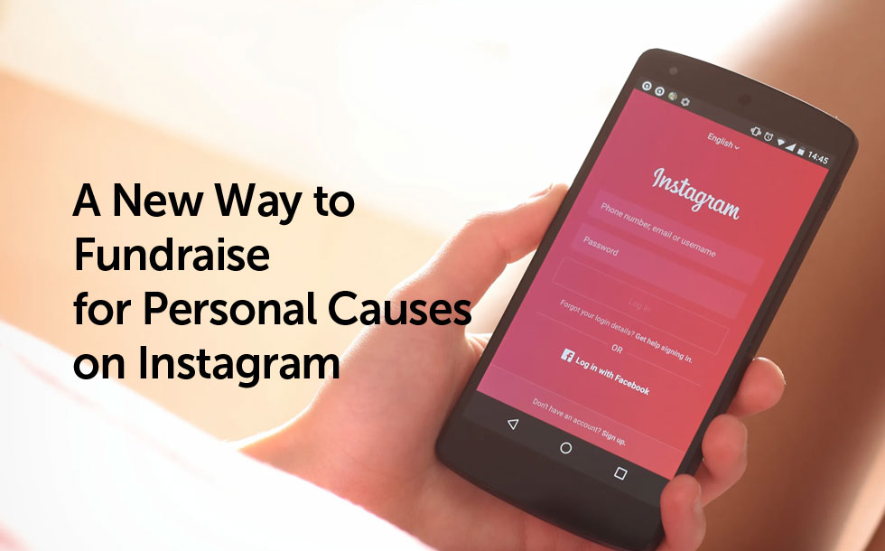 A New Way to Fundraise for Personal Causes on Instagram