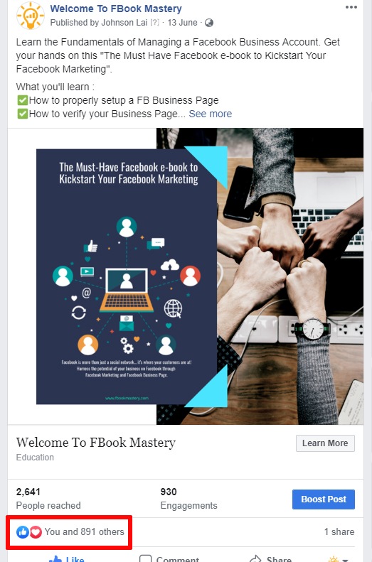 Facebook Page - FB Hack! Invite those who Like your Posts to