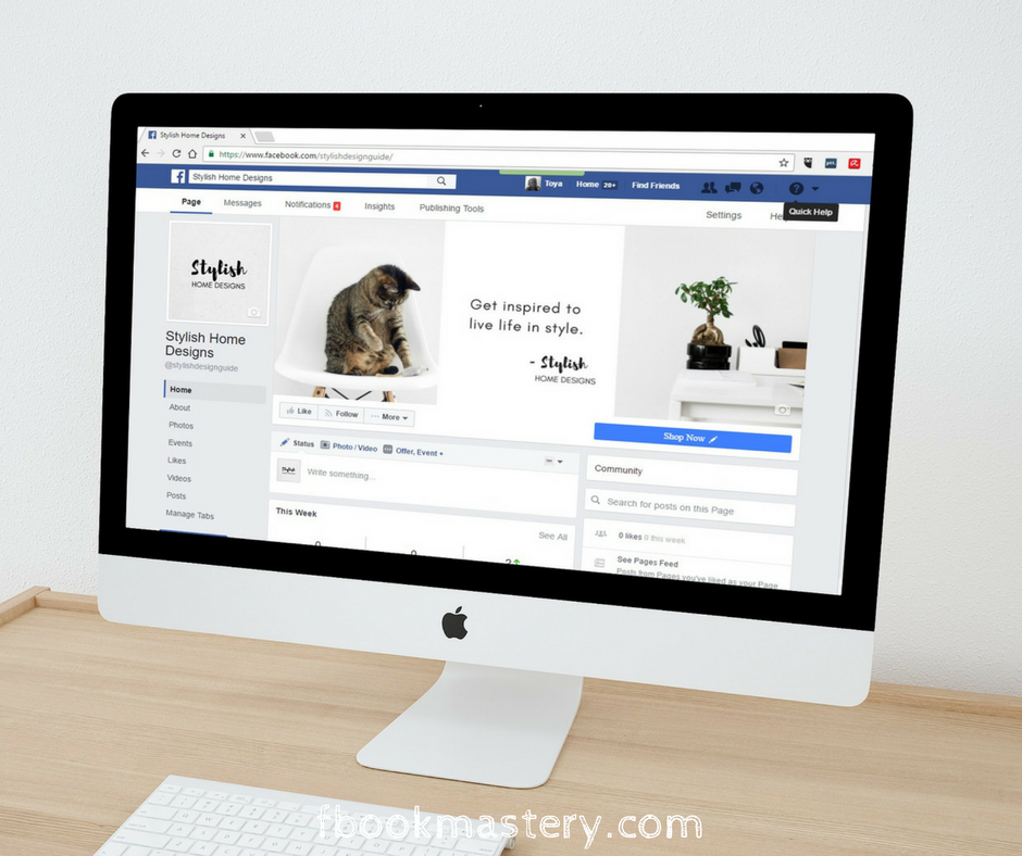5 tips for making your FB Page work effectively for your business